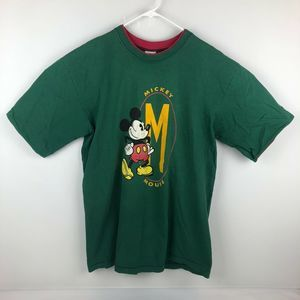 Vintage 90's Disney Mickey Mouse Spell Out T-Shirt